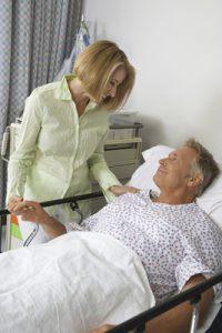 Blickpunkt sichere Pflege - Besuchsdienste im Krankenhaus oder Pflegeheim